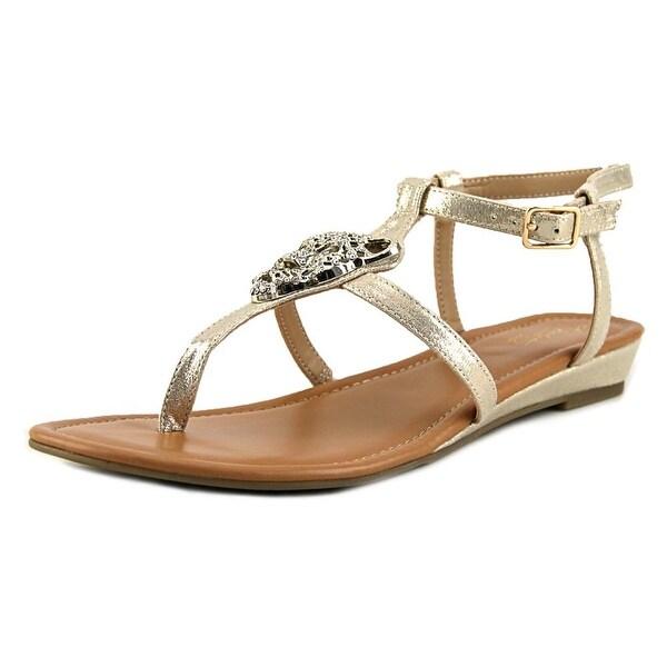 Thalia Sodi Elba Women Gold Sandals
