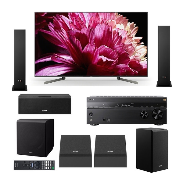 """Sony X950G 65"""" Class BRAVIA 4K HDR UHD Smart TV Home Theater System"""