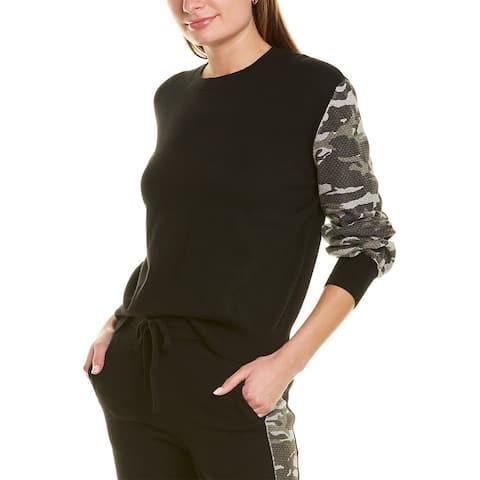 Monrow Cashmere-Blend Sweatshirt
