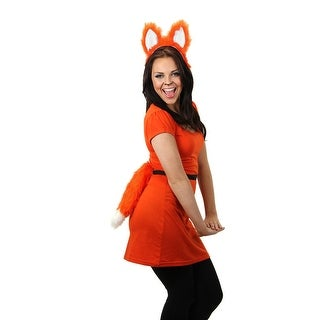 Moving Red Fox Tail Coplay Costume Tail