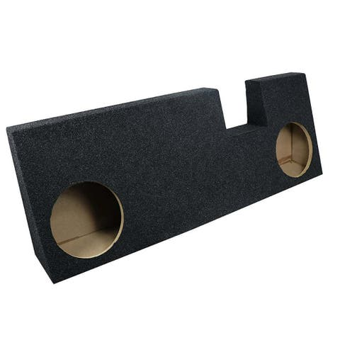 Atrend Bbox A344-10CP Dual 10 Sealed Carpeted Subwoofer Enclosure - Fits 2015 - Up Ford F150 Extended Cab Atrend Bbox
