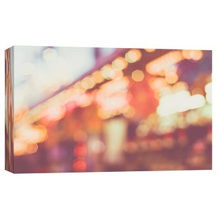 """PTM Images 9-102053  PTM Canvas Collection 8"""" x 10"""" - """"Blurred Lights 1"""" Giclee Abstract Art Print on Canvas"""