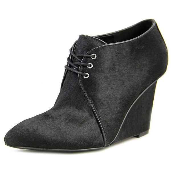 Nine West Hartie Pointed Toe Suede Bootie