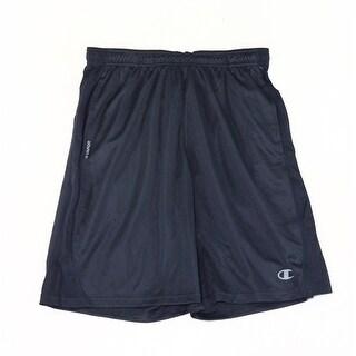 Champion NEW Blue Mens Size Medium M Elastic-Waist Athletic Shors