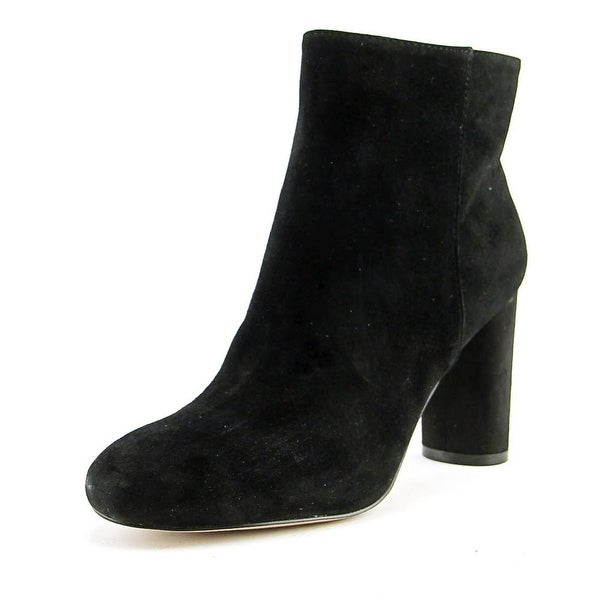INC International Concepts Taytee Round Toe Suede Ankle Boot