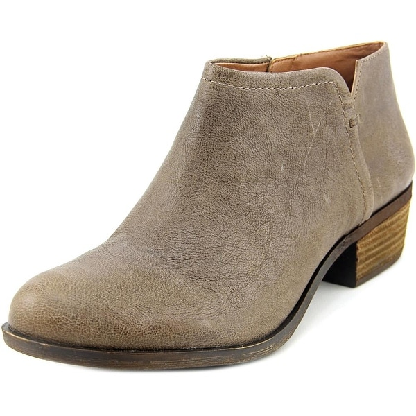 Lucky Brand Bardon 2 Round Toe Leather Ankle Boot