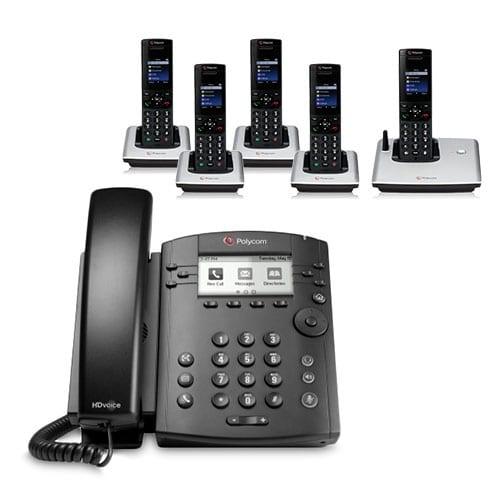 """""""Polycom VVX 311 (2200-48350-001) 6-line Desktop Phone"""""""