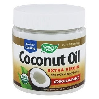 Nature's Way Coconut Oil Organic 16-ounce Oil
