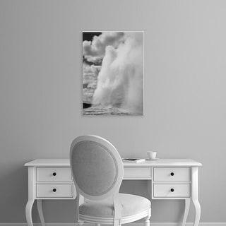 Easy Art Prints Ansel Adams's 'Old Faithful' Premium Canvas Art
