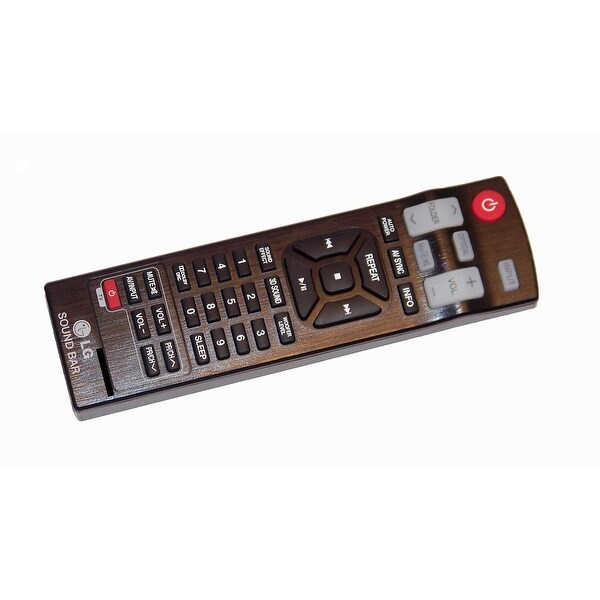 OEM LG Remote Control Originally Shipped With: NB3250A, NB3520A, NB3520ANB