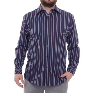 Zagiri Long Sleeve Collared Button Down Men Regular Casual