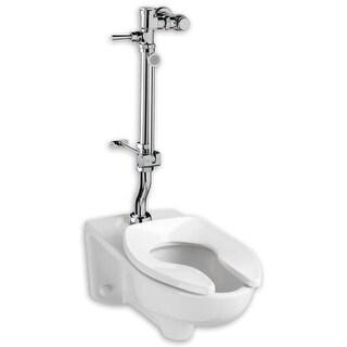 "American Standard 6047.815 1.6 Exposed Toilet Flush Valve for 1-1/2"" Top Spud Installation"