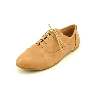 Lucky Brand Davie Round Toe Leather Oxford