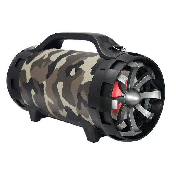 shop mpd652bz camo max power 5in portable tube speaker