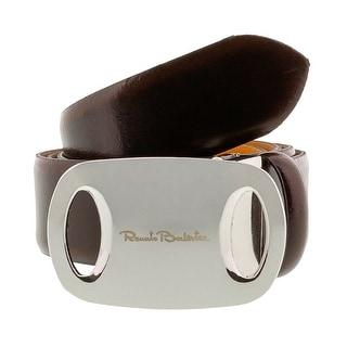 Renato Balestra Z075S Smooth Leather Mens Belt