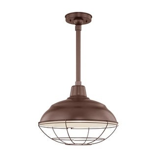"Millennium Lighting RWHS17 R Series 1 Light 17"" Wide Industrial Warehouse Shade-Shade Only"