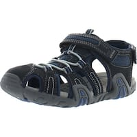 Geox Boys Jr Sandal Kraze Water Friendly Protective Toe Outdoor Fashion Sandals