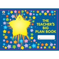 (2 Ea) The Teachers Big Plan Book