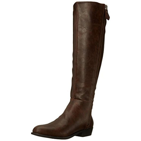 Penny Loves Kenny Womens Dayton Riding Boots Faux Leather Knee High