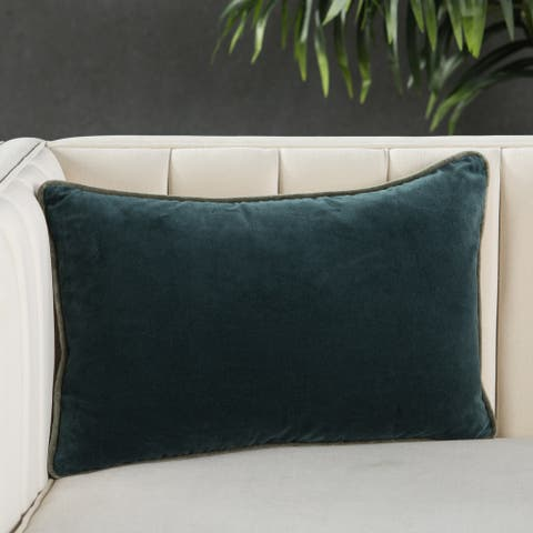 Carson Carrington Odelas Solid Lumbar Pillow