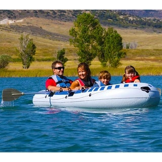"""Airhead AHIB4 3 Person Inflatable Boat"""