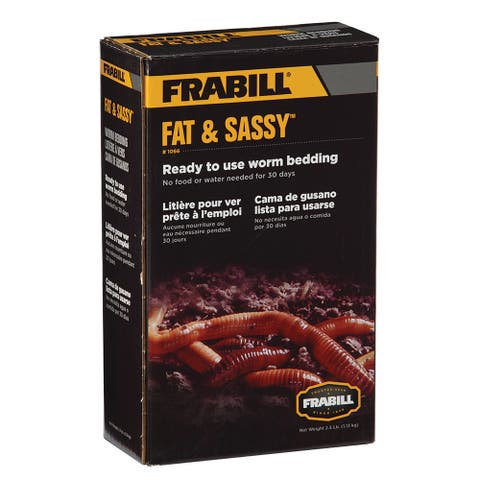 Frabill Fat Sassy Pre-Mixed Worm Bedding - 2.5lbs