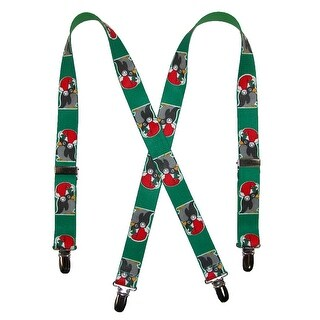 CTM® Kids' Christmas Penguin Print Holiday Suspenders - One size
