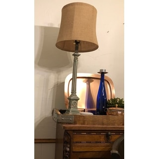 Safavieh Lighting 32 Inch Collin Antiqued Traditional Led Table Lamp 12 X12 X31 5 On Sale Overstock 28165107