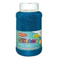 Glitter 16 Oz Bottle  Blue