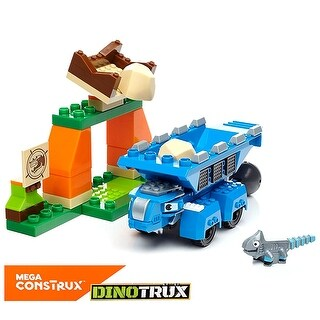 Mega Construx Mega Construx Dinotrux Ton-Ton & Ace Building Set Educational Toys