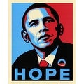 ''Obama: Hope'' by Anon African American Art Print (20 x 16 in.) - Thumbnail 0