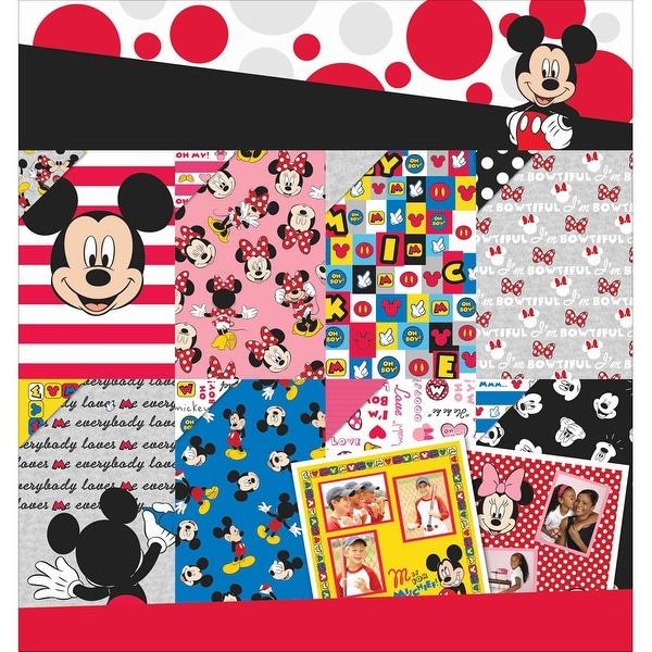 "Disney Paper Pad 12""X12"" 36/Pkg-Mickey & Friends 12 Designs/3ea"