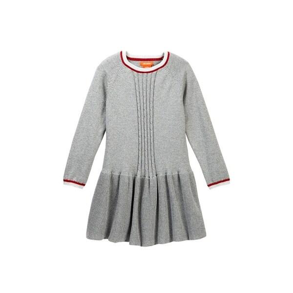 Joe Fresh Heather S Metallic Cable Knit Sweater Dress