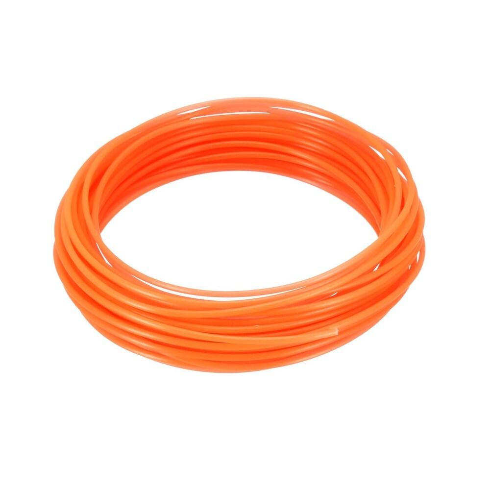 10 Meter/32.5 Ft PLA 3D Pen/3D Printer Filament, 1.75 mm Luminous Orange -  Unique Bargains
