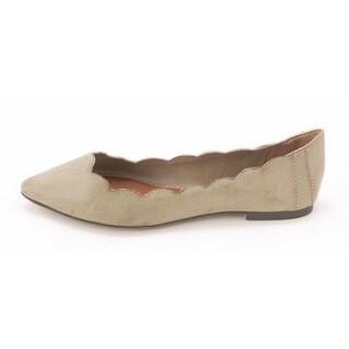 MIA Womens AMARI Pointed Toe Ballet Flats