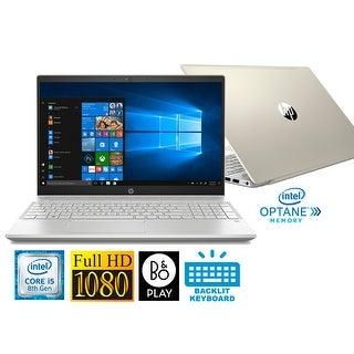 "HP Pavilion 15.6"" Full HD Laptop with Intel i5-8250U 8GB 1TB HDD & B&O Play (Refurbished)"