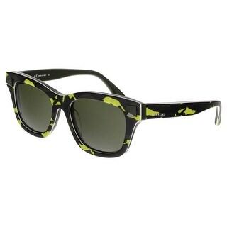 Valentino V670SC 741 Fluo Yellow Cateye Sunglasses