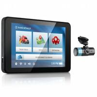 Refurbished Rand McNally IntelliRoute TND 540LM with Dash Cam 100 Truck GPS with DashCam
