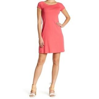 Catherine Malandrino NEW Pink Women's Size XL Raglan Sheath Dress
