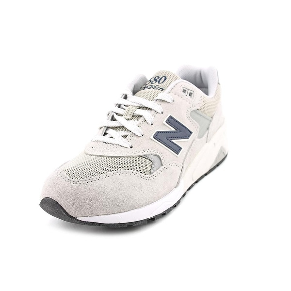 New Balance MRT580 Men Round Toe Suede Gray Running Shoe