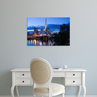 Easy Art Prints Walter Bibikow's 'Manitoba' Premium Canvas Art