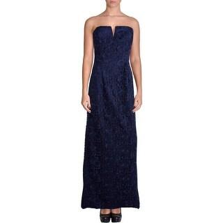 Aidan Mattox Womens Soutache Prom Evening Dress