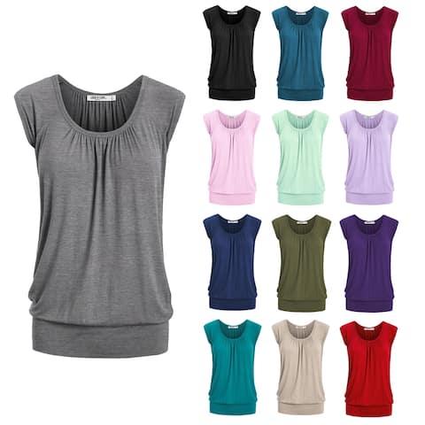 Women's Scoop Neck Short Sleeve Top