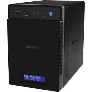 """NetGear RN214D42-100NES Netgear ReadyNAS RN214 NAS Server - ARM Cortex A15 Quad-core (4 Core) 1.40 GHz - 4 x Total Bays - 8 TB"