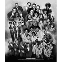 ''Motown Legends'' by Wishum Gregory Music Art Print (24 x 20 in.)