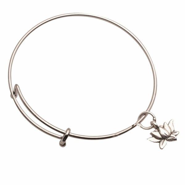Women's Inspiration Charms Bracelets - Lotus