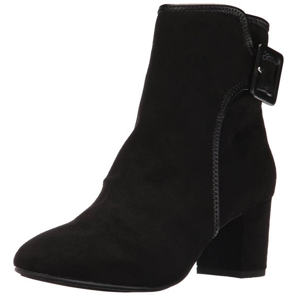White Mountain Womens Callaway Fabric Closed Toe Ankle Fashion Boots