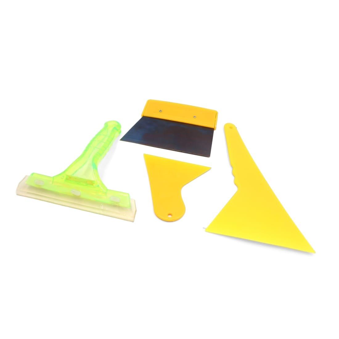 Window Tint Tools Tri-Edge Yellow 10 Pcs