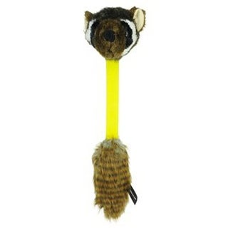 Hyper Pet Hyper Shakes Raccoon Dog Toy Brown