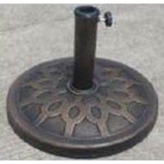 Seasonal Trends 69328 Essential Umbrella Base, Bronze , 12 kg